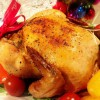クリスマスのチキン