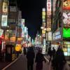 夜の歌舞伎町でやさぐれている。