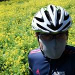 花粉に負けずに自転車に乗れるマスク、PITTA。