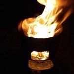 また、焚き火の季節がやってきた
